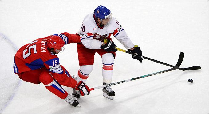 Александр Свитов против сборной Чехии