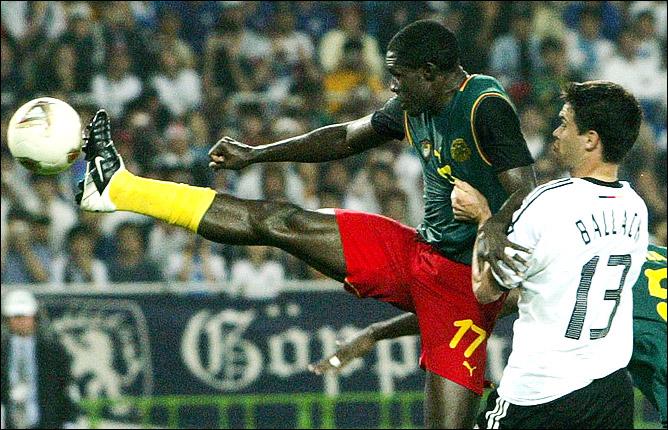 ЧМ-2002: против Микаэля Баллака.