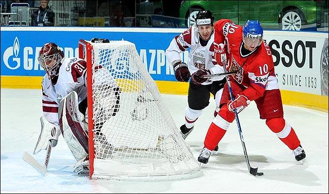 17.05.2010. ЧМ-2010. Чехия - Латвия - 3:1. Фото 01.
