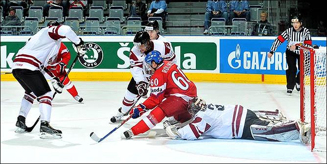 17.05.2010. ЧМ-2010. Чехия - Латвия - 3:1. Фото 03.