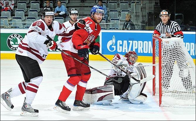 17.05.2010. ЧМ-2010. Чехия - Латвия - 3:1. Фото 05.