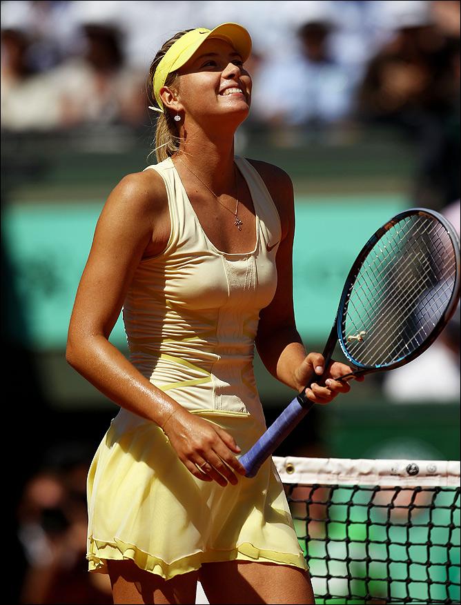 Мария впервые после травмы вышла в полуфинал ТБШ