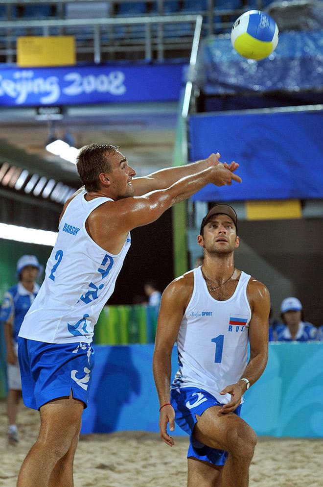Дмитрий Барсук и Игорь Колодинский на Олимпиаде в Пекине