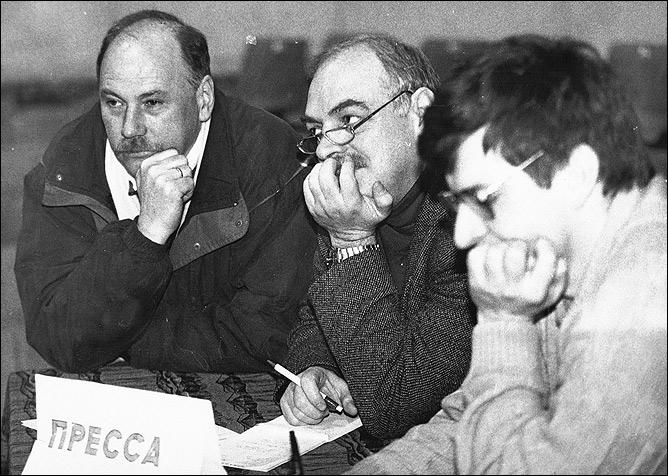 Вячеслав Зайцев, Лев Россошик и Владимир Стецко