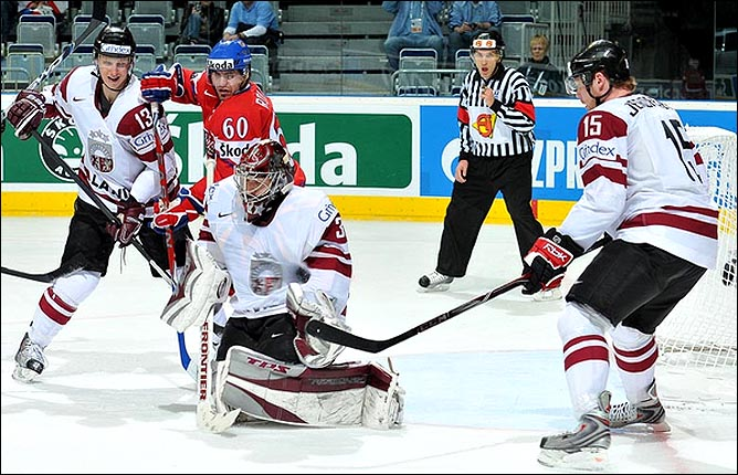 17.05.2010. ЧМ-2010. Чехия - Латвия - 3:1. Фото 06.