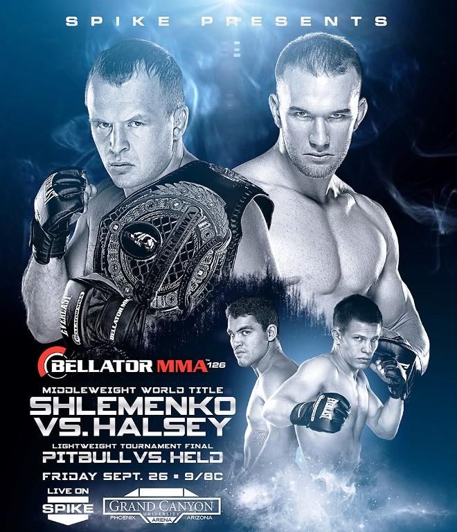 Постер к турниру Bellator 126