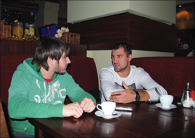 Константин Устьянцев и Сергей Ковалёв
