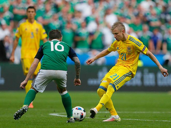 Украина — Северная Ирландия — 0:2. Александр Зинченко