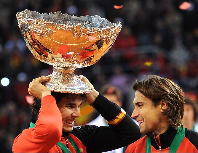Рафаэль Надаль в очередной раз привёл сборную Испании к Кубку Дэвиса.