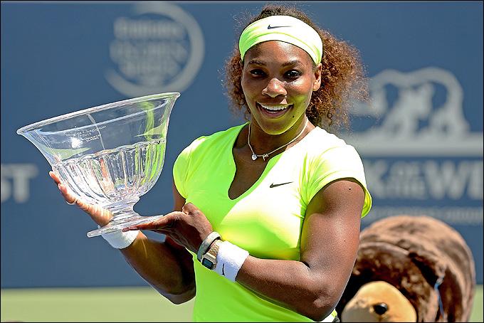 Серена Уильямс выиграла стартовый турнир американской серии