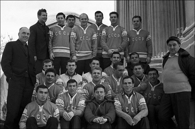 Сборная СССР — победитель Олимпиады-1968.