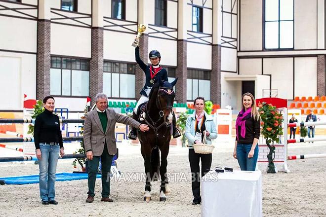 Репортаж с международного турнира по конному спорту