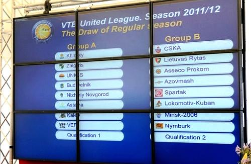 Презентация и жеребьевка Единой Лиги ВТБ-2011/12 (2)