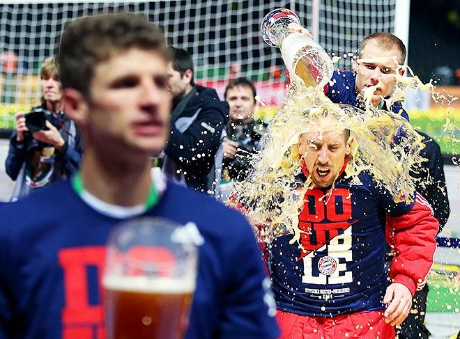 «Бавария» сделала «золотой дубль» во внутренних турнирах