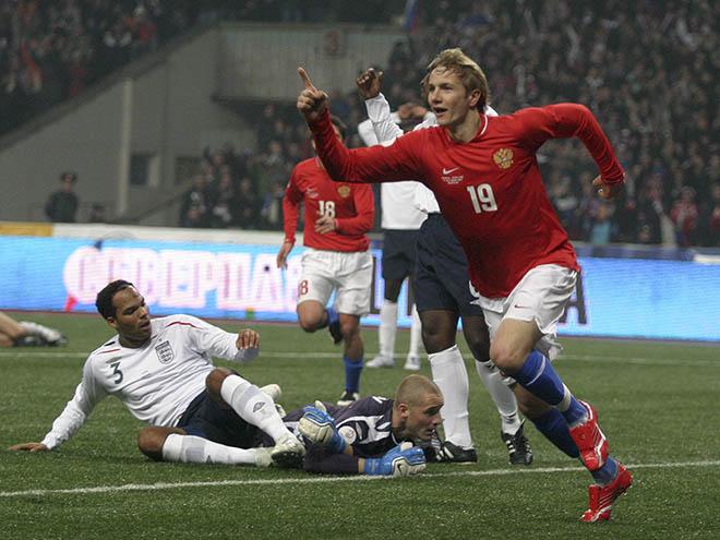 Россия — Англия — 2:1