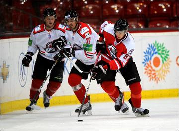 Выставочный матч в Донецке