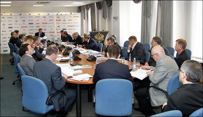 Заседание Совета и Исполкома ФХР