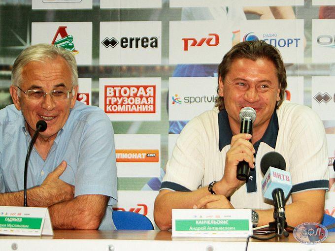 Гаджи Гаджиев и Андрей Канчельскис