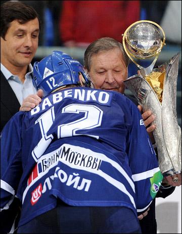 Юрий Бабенко к первому трофею сезона притрагиваться не стал
