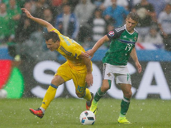 Украина — Северная Ирландия — 0:2. Виктор Коваленко