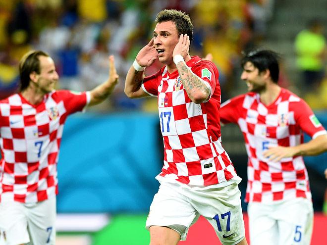 Хорватия будет играть с Мексикой на победу