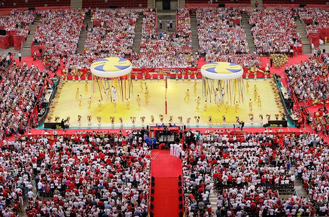 За матчем Польша — Сербия наблюдали 62 тысячи болельщиков