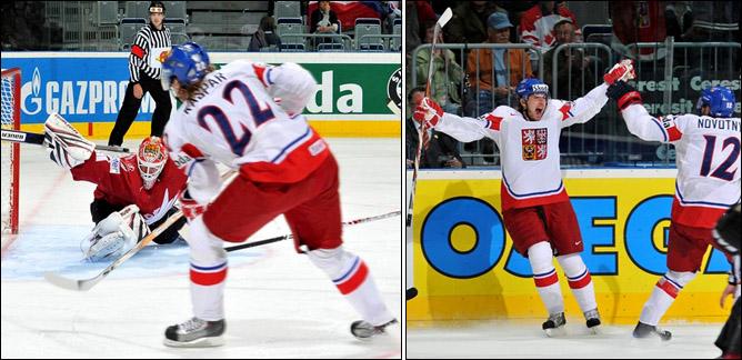 18.05.2010. ЧМ-2010. Канада - Чехия - 2:3. Фото 02.