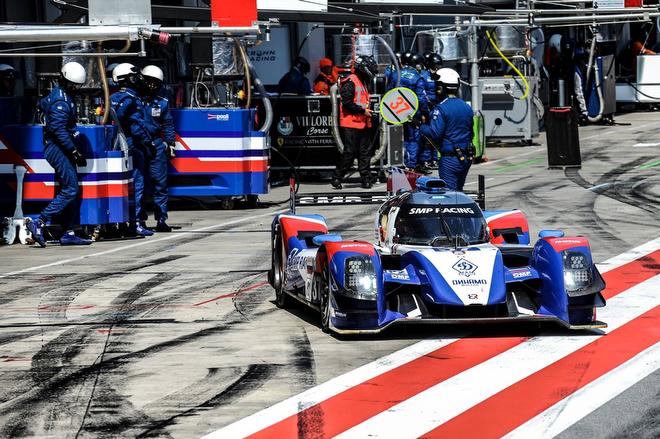 BR Engineering BR01 команды SMP Racing