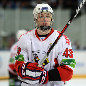 Восходящая звезда российского хоккея Валерий Ничушкин