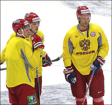 Евгений Медведев, Николай Кулёмин и Илья Ковальчук