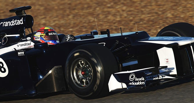 Новый Williams FW34