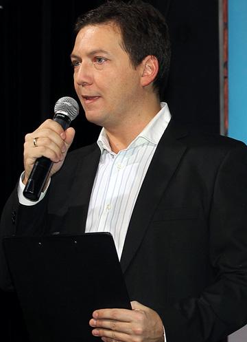 Георгий Черданцев — человек у микрофона