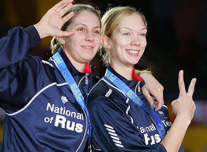 Екатерина Гамова после победы на чемпионате мира в Осаке