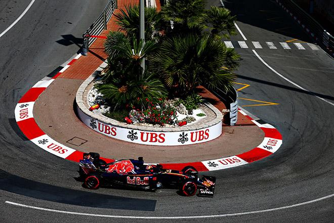 Даниил Квят на Гран-при Монако