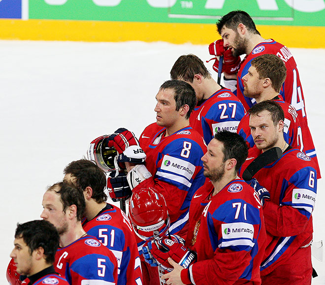 ЧМ-2013. Четвертьфинал. Россия – США – 3:8