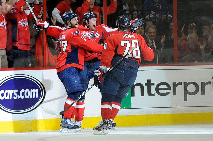 "10 мая 2012 года. Вашингтон. Плей-офф НХЛ. 1/4 финала. ""Вашингтон Кэпиталз"" — ""Нью-Йорк Рейнджерс"" — 2:1"