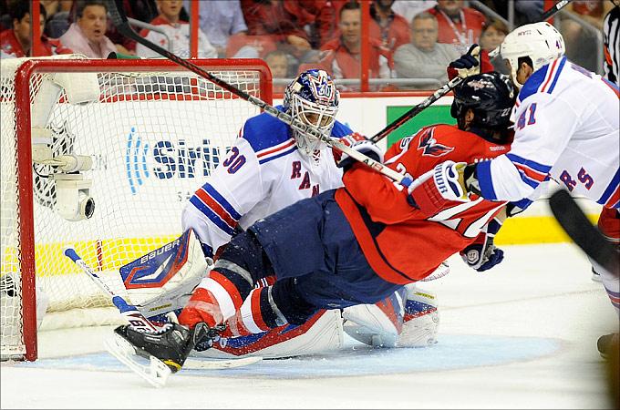 "5 мая 2012 года. Вашингтон. Плей-офф НХЛ. 1/4 финала. ""Вашингтон Кэпиталз"" — ""Нью-Йорк Рейнджерс"" — 3:2"