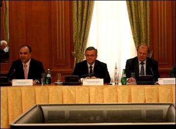 Слева направо: Герман Скоропупов, Владимир Шалаев и Валерий Фесюк