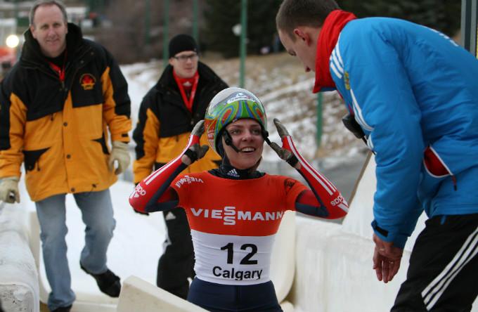 Елена Никитина сразу после финиша