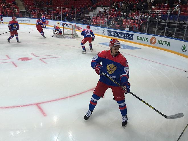 Вадим Шипачёв в новой форме сборной России