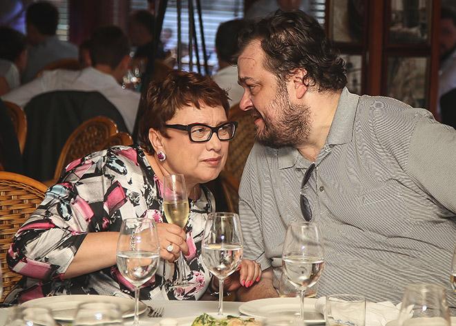 Ольга Смородская и Василий Уткин