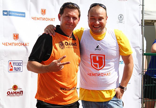 Георгий Черданцев и Константин Генич