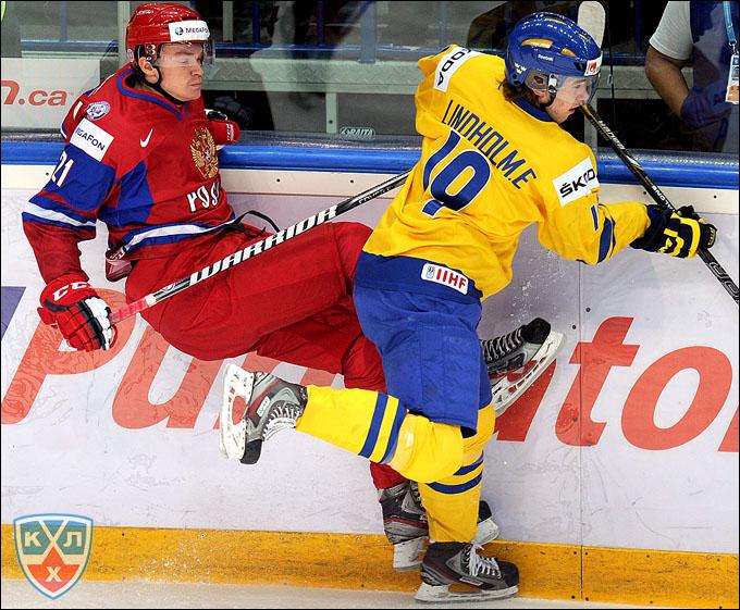 Элиас Линдхольм против сборной России