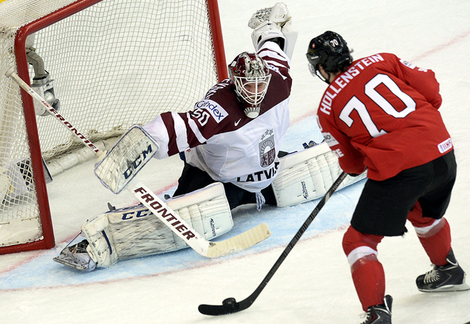 Фрагмент матча Латвия — Швейцария