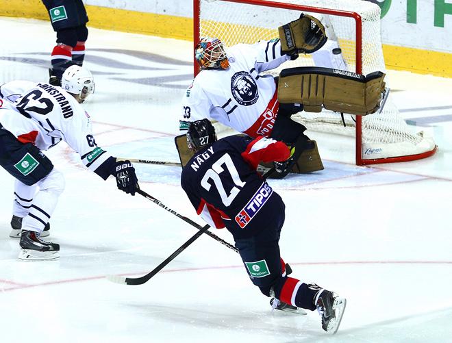 24 сентября 2014 года. Братислава. Регулярный чемпионат КХЛ. «Слован» — «Медвешчак» — 1:4