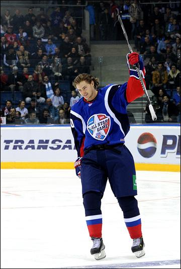 Виктор Тихонов в Матче Всех Звёзл КХЛ, 2014 год