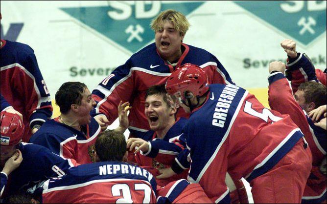 4 января 2002 года. Пардубице, Чехия. Только что молодежная сборная России стала чемпионом мира.