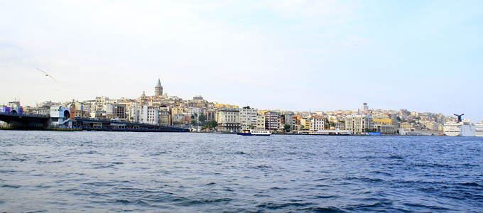 Дневной Стамбул