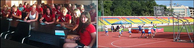 Учебно-тренировочный сбор женской сборной России по хоккею