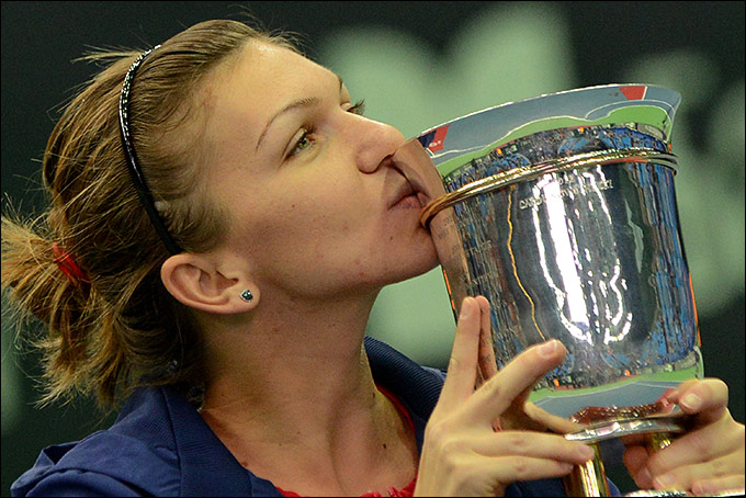 Симона Халеп завоевала пятый титул в сезоне